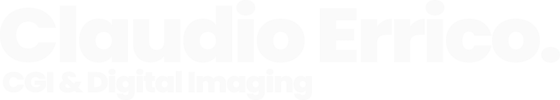 Claudio Errico - CGI & Digital Imaging